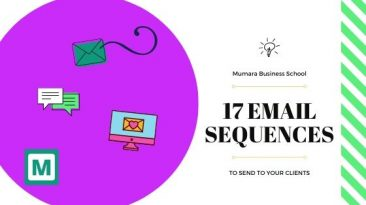 17 email sequences to send to your clients!