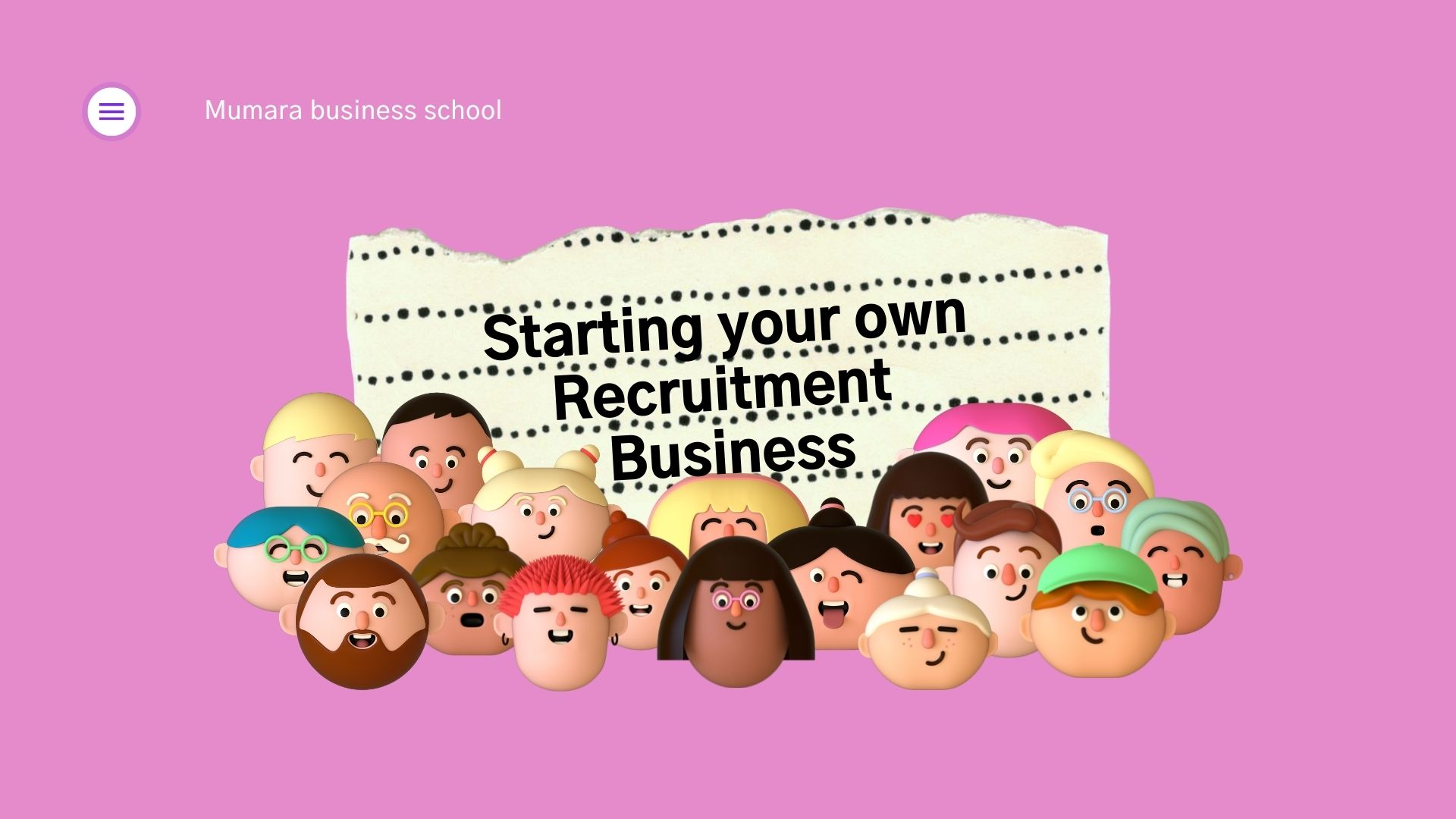 Start a Recruitment Business with Mumara one